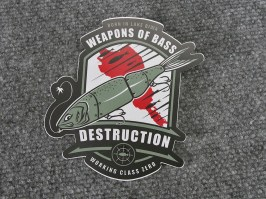 DRT+x+WEAPONS+DESTRUCTION+STICKER